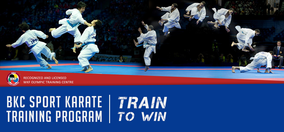 BKC'S Olympic Sport Karate Program – 'Train to Win'